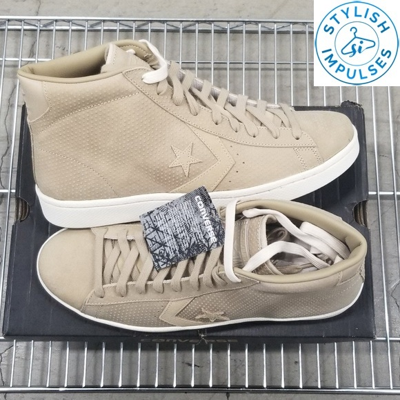 Converse Other - Converse Pro 76 Mid in Khaki New with Tags No Box